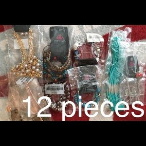 Lot of 12 Pieces Jewelry